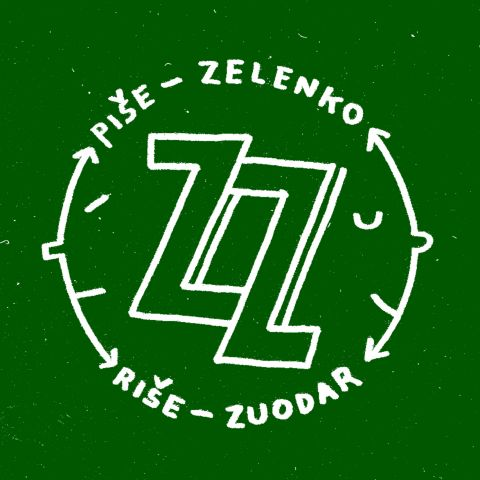 LEON ZUODAR /// ZZ, Biennial of the Slovenian Independent Illustration vs Zelenko