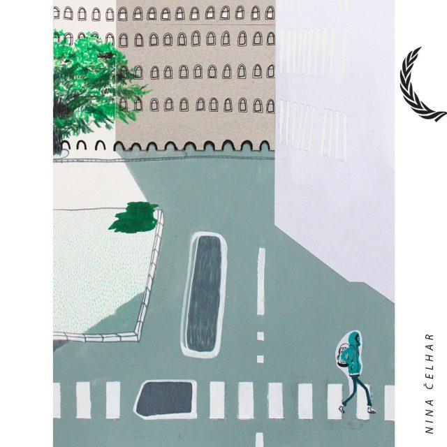 >> Nina Čelhar <<  Nina Čelhar ( 1990) je iz slikarstva diplomirala in magistrirala na ljubljanski Akademiji za likovno umetnost in oblikovanje. Med 2013 in 2014 se je šolala na Hochschule für Grafik und Buchkunst v Leipzigu (DE). Leta 2012 je prejela nagrado ALUO za izjemne študijske dosežke, leta 2015 pa posebno nagrado ESSL Collector's Invitation. Sodelovala je na mnogih samostojnih in skupinskih razstavah, tako v Sloveniji kot v tujini. Njena dela so vključena v več umetniških zbirk.  ><<  Nina je ena izmed letošnjih avtoric, katerih dela si boste imeli priložnost ogledati v sklopu osrednje skupinske razstave Bienala neodvisnih v Kinu Šiška. Razstava na ogled še do konca tedna!   ><<  #bienaleneodvisneilustracije #bienaleneodvisnih #bienaleljubljana #ljubljanaevents #eventsljubljana #illustration #kinošiška #kinošiškaljubljana #igljubljubljana  #ljubljana #ninačelhar