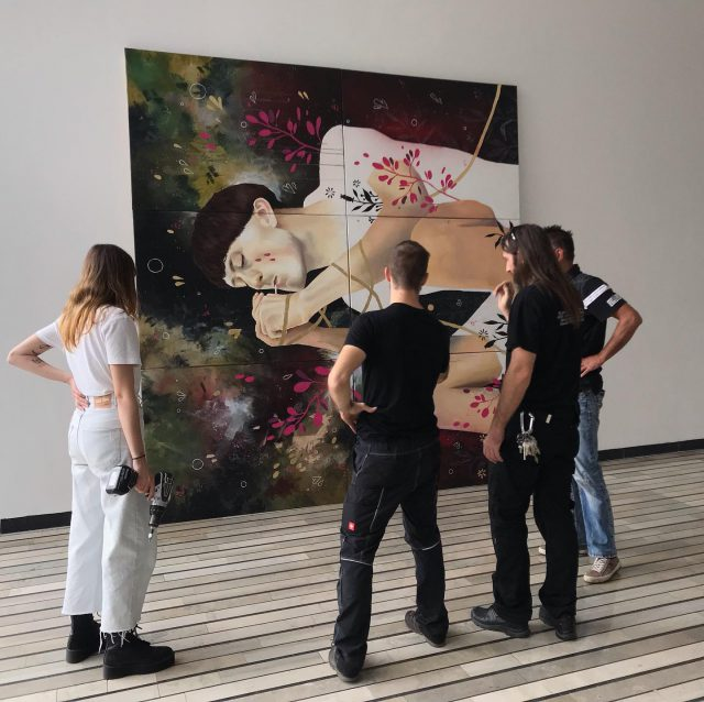 >> Špela Senica << #bienaleneodvisneilustracije #bienaleneodvisnih #bienaleljubljana #ljubljanaevents #eventsljubljana #illustration #kinošiška #kinošiškaljubljana #igljubljubljana  #ljubljana