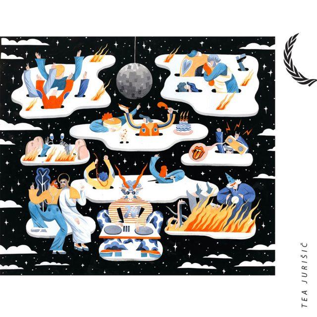 >> Tea Juršić <<  Tea Juršić (1991) je magistra grafičnega oblikoavnja iz Hrvaške. Njeno delo večinoma sestavlja ilustracija in slikanje, poleg tega pa raziskuje tudi nove način izražanja v stripu in se sprašuje, če humor in umetnost spadata skupaj. Je članica združenja hrvaških likovnih umetnikov. Sodelovala je nekaj umetniških rezidencah v Belgiji, Makedoniji, Italiji in na Norveškem. Imela je 8 solo razstav na Hrvaškem in v tujini. Od 2017 dela kot asistentka na Akademiji za umetnost v Osijeku. Za svojo zaključno magistrsko delo je prejela Cum Lauda priznanje.   >><<  Tea je ena izmed letošnjih avtoric, katerih dela si boste imeli priložnost ogledati v sklopu osrednje skupinske razstave Bienala neodvisnih v Kinu Šiška. Na ogled še do konca tedna. :)    #bienaleneodvisneilustracije #bienaleneodvisnih #bienaleljubljana #ljubljanaevents #eventsljubljana #illustration #kinošiška #kinošiškaljubljana #igljubljubljana  #ljubljana #teajuršič